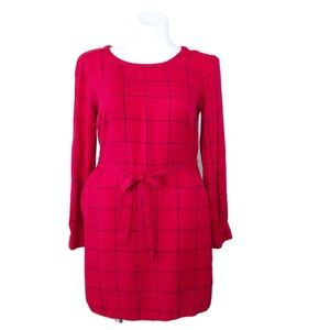 Red Plaid Dress Size Large - A New Day by Target